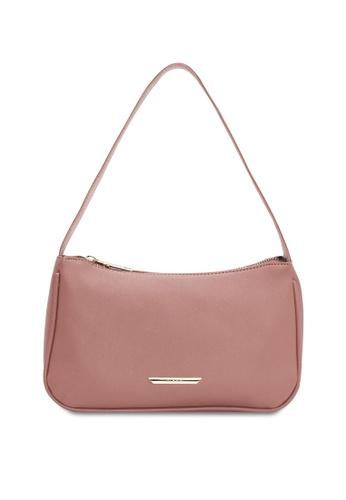 VINCCI pink Hobo Bag F0EE3AC898E4BAGS_1