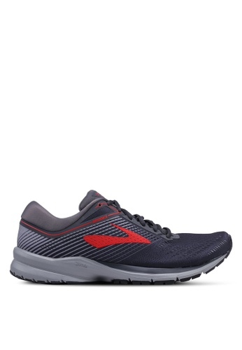 Brooks grey Launch 5 Shoes E3FBESHB9F2C57GS_1
