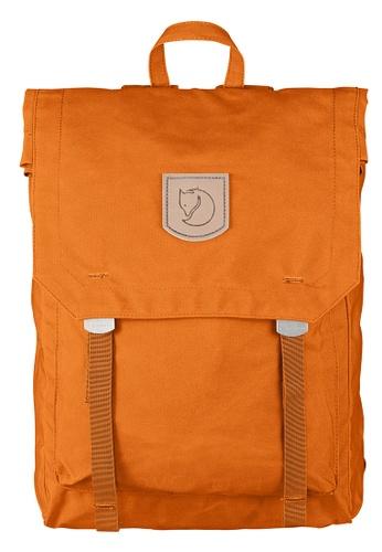 Fjallraven Kanken orange Seashell Orange Foldsack No.1 Backpack 31E10ACC6D77FAGS_1
