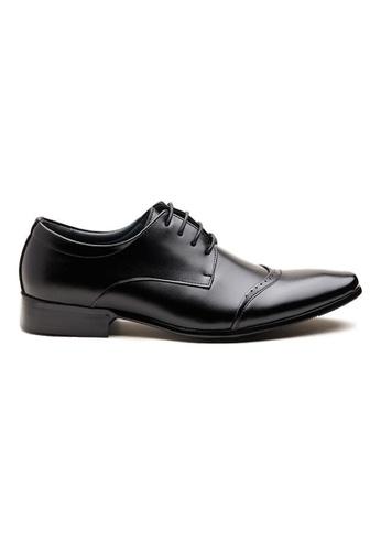Kings Collection 黑色 帕特里西奧皮鞋 3F9B0SH81761D2GS_1