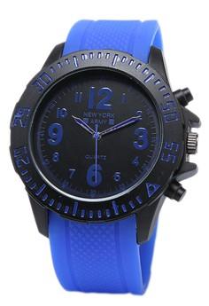 Newyork Army Men's NYA8801 Rubber Strap Watch