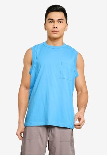 niko and ... blue Sleeveless T-Shirt E1BCEAA539CED0GS_1