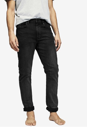 Cotton On black Tapered Leg Jeans B7499AA9C96809GS_1