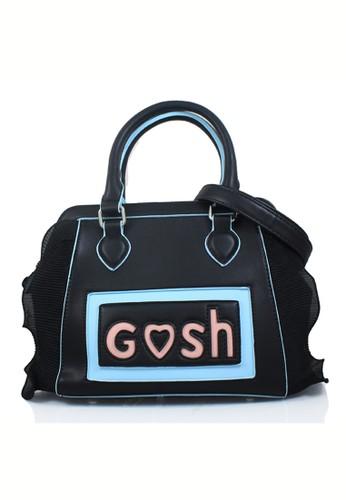 GOSH black Gosh Fashion Hand Bag E6D4BACE1454FEGS 1 9bf5281b3f