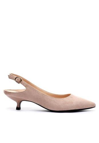 Twenty Eight Shoes Slingback Heel 295-30 00138SH8923FA0GS_1
