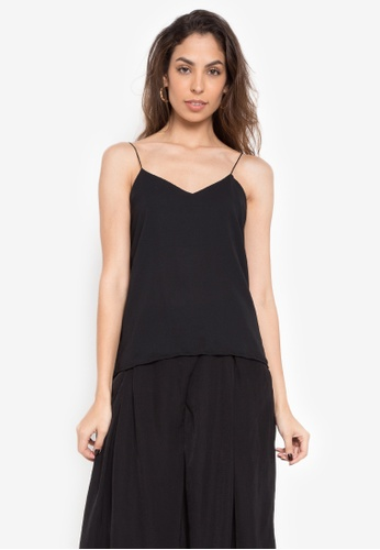 Fablook Clothing black Camisole Plain 3B655AAF4341F9GS_1