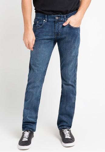 EDWIN blue Edwin Long Jeans Pants 509-02-107 - ED179AA0URHMID_1