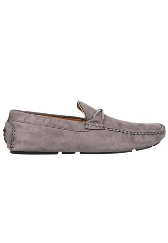 Tomaz grey Tomaz C228A Bow Slip On Loafers (Grey) 33E80SHA9FAA0EGS_1