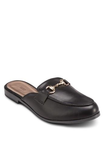 金飾仿皮懶人拖鞋,esprit hk store 女鞋, 鞋