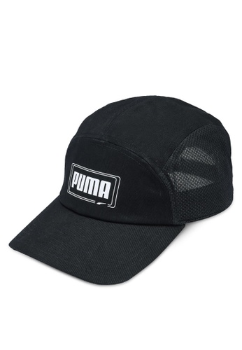 PUMA black Five-Panel Cap 9C2FBAC0773BD4GS_1