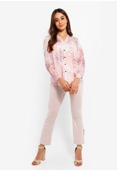 7eb51c9e24e3f1 40% OFF Wallis Petite Blush Snake Print Shirt S$ 99.90 NOW S$ 59.90 Sizes 8  10 14 16