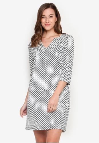 Silva Womens Lace Shift Dress