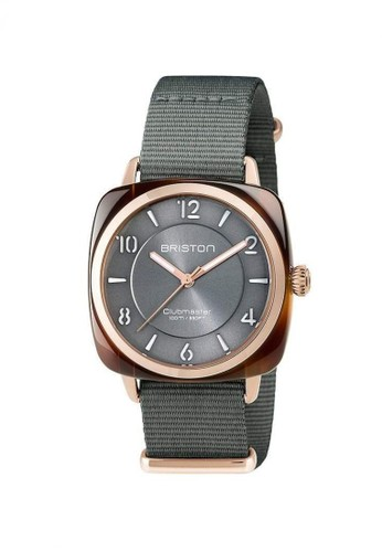 Briston grey BRISTON CLUBMASTER CHIC ACETATE HMS GOLD GREY DIAL AND ROSE GOLD 36MM 303B9AC1FF44F2GS_1
