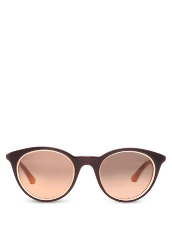 時尚圓框太陽esprit台灣門市眼鏡, 飾品配件, 圓框