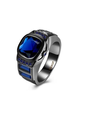 ADORA blue Zircon Ring 72A64ACA8B41FBGS_1