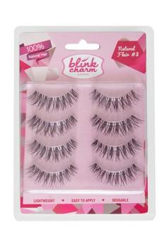 Eyelashes Natural Flair #3 - 4 Pair