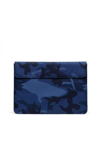 Herschel blue Spokane 15 Macbook Sleeves 9E1CCAC05F3354GS_1