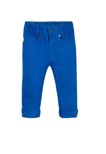PAUL SMITH JUNIOR blue PAUL SMITH JUNIOR BABY BOYS LONG PANTS 10865KAA40BF05GS_1
