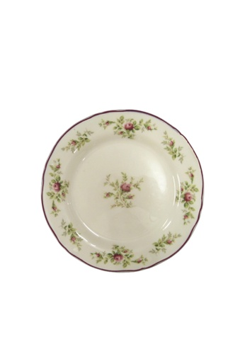 """Claytan Moss Rose With Banding - 9.2"""" Soup Pasta D17F8HLACAF355GS_1"""