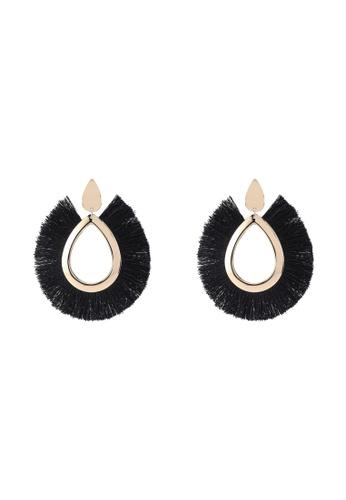 Vero Moda black Dianne Big Earrings 6B31DAC9968B12GS_1