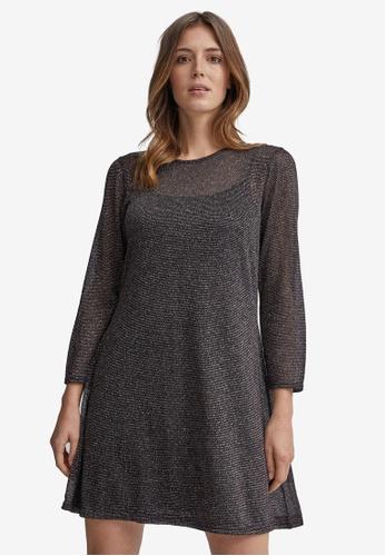 Dorothy Perkins pink Lurex Mesh Dress 32465AA5FA2CA5GS_1