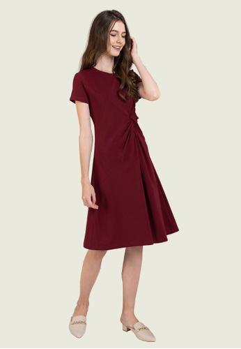 L'zzie red LZZIE COBIE DRESS - RED 325EAAA75FD3E4GS_1