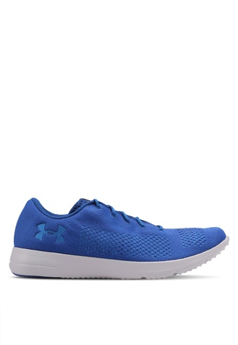 Under Armour blue UA Rapid Shoes UN337SH0SU3SMY_1