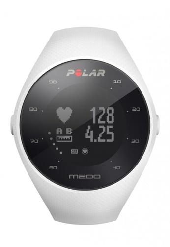 Polar white POLAR M200 GPS Running Watch (White) PO400AC0GIF3SG_1