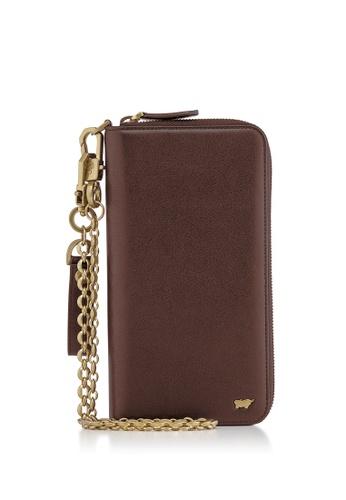 Braun Buffel brown Raznor Zip Long Wallet 9791EAC11CE03FGS_1