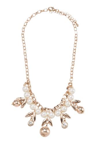 珠光櫻桃珍珠項鍊, 飾品配esprit官網件, 項鍊