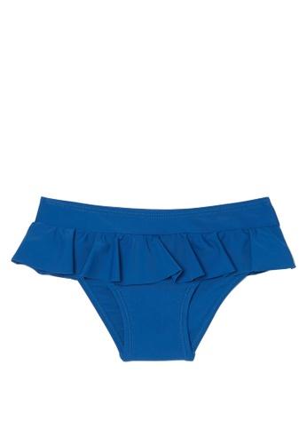 OVS blue Stretch Swim Briefs With Frills 67978KA9866EA7GS_1