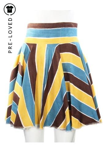 Dolce & Gabbana multi dolce & gabbana Multicolor Printed Skirt 2D5B0AAA73F5B4GS_1