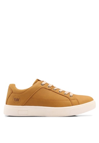 Weinbrenner brown Faux Leather Sneakers A2901SHE4D23FCGS_1