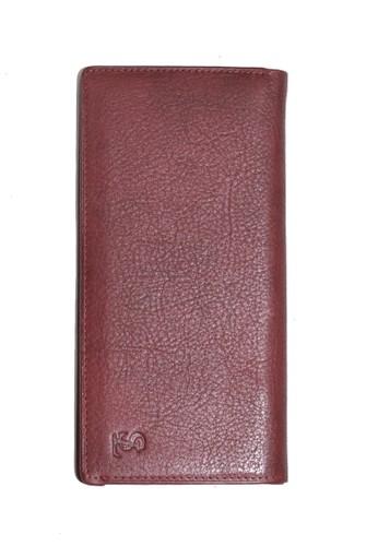 SAINT LUCAS red Saint Lucas Premium Genuine Leather Women Wallet F144EAC6F7C088GS_1
