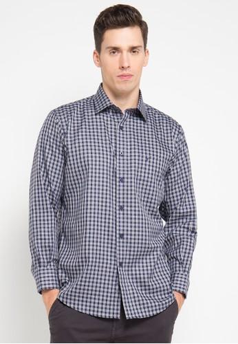 Tootal navy Shirt Long Sleeve TO643AA30UAVID_1