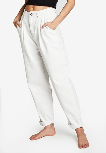 Cotton On white Slouch Mom Jeans F9B60AAC87DFD0GS_1