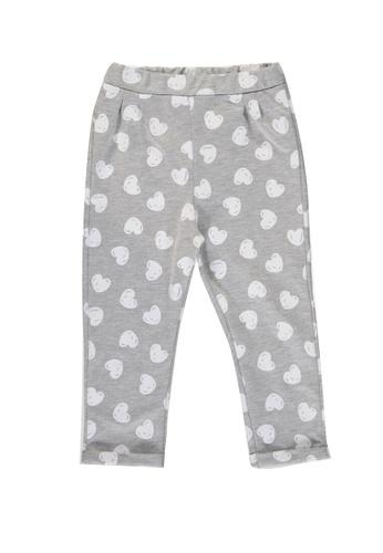 LC Waikiki grey Baby Girl's Figured Sweatpants E2544KA8BE9A4DGS_1
