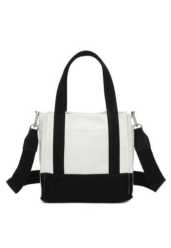 Milliot & Co. white Naomi Top-Handle Bag BD774ACCDF0E75GS_1