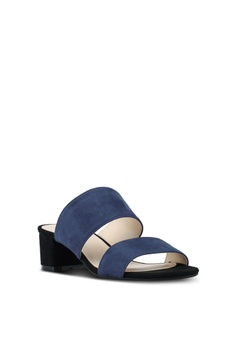 ac1d48262f520e ZALORA Contrast Colour Sandal Mules S  39.90. Available in several sizes