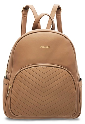 Polo Hill brown Polo Hill Brown Backpack 415DAAC7BB807EGS_1