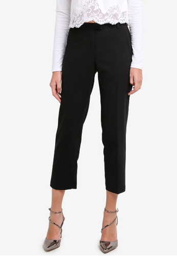 Miss Selfridge black Petite Cigarette Trousers MI665AA0RXA8MY_1