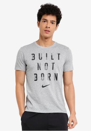 Nike black and grey Men's Nike Dry Training T-Shirt NI126AA0STWEMY_1