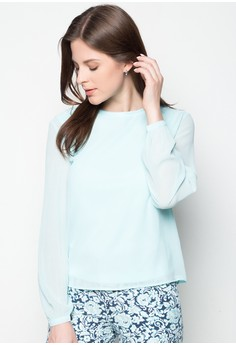 Solid Long Sleeve Top
