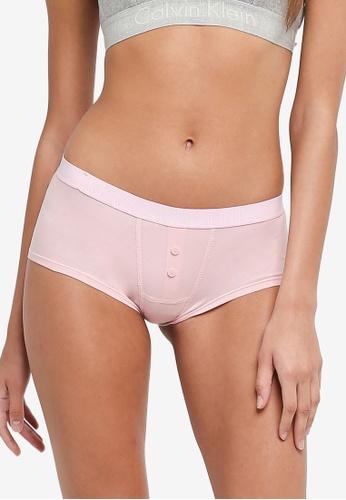 Calvin Klein multi Cotton Boyshorts - Calvin Klein Underwear 7CC21US3B961A7GS_1