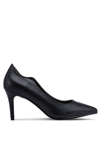 Bata black Pointed Toe Heels 27DA6SH9046638GS_1