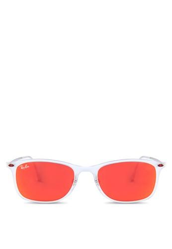 RB4225 透明方框太陽zalora 手錶眼鏡, 飾品配件, 飾品配件