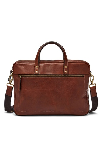 4ce380b49dfb Buy Fossil Fossil Defender Briefcase MBG9343222