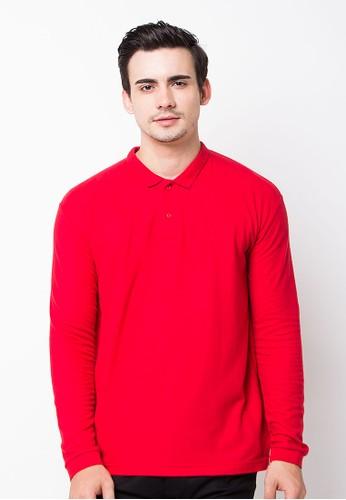 Endorse Polo Shirt E & Pjg & Plain Red BLP-OG090