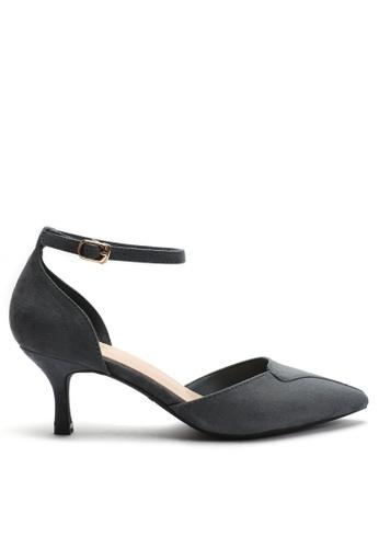 Twenty Eight Shoes 尖頭絨面高踭鞋165-5 16335SH405F2E7GS_1