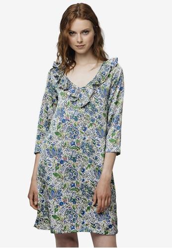 539a61140a Buy Compania Fantastica Spring Floral Print Dress Online on ZALORA Singapore